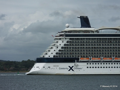 CELEBRITY ECLIPSE Departing Southampton PDM 05-07-2014 16-59-46