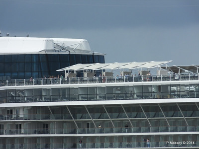 CELEBRITY ECLIPSE Departing Southampton PDM 05-07-2014 16-56-16
