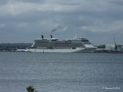 CELEBRITY ECLIPSE Departing Southampton PDM 05-07-2014 16-43-43