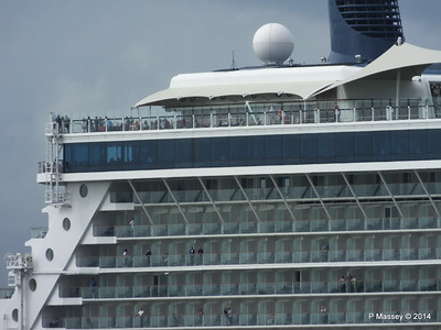 CELEBRITY ECLIPSE Departing Southampton PDM 05-07-2014 16-56-18