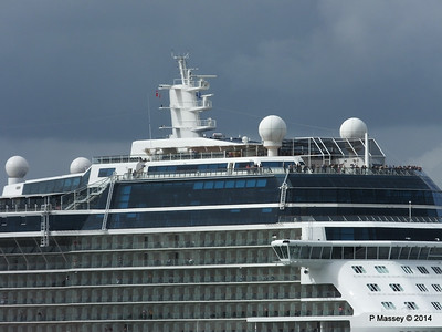 CELEBRITY ECLIPSE Departing Southampton PDM 05-07-2014 16-55-54
