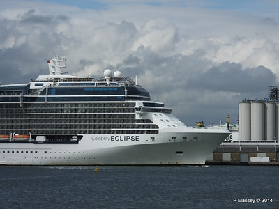 CELEBRITY ECLIPSE Departing Southampton PDM 05-07-2014 16-57-58
