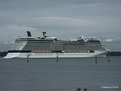 CELEBRITY ECLIPSE Departing Southampton PDM 05-07-2014 17-01-24