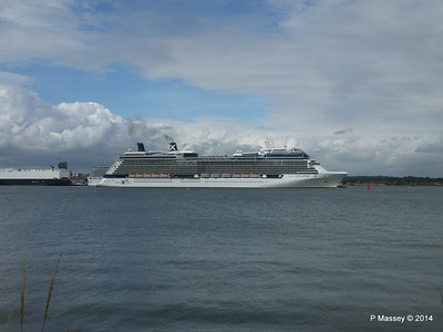 CELEBRITY ECLIPSE Departing Southampton PDM 05-07-2014 16-58-26