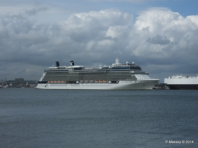 CELEBRITY ECLIPSE Departing Southampton PDM 05-07-2014 16-56-32