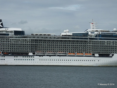 CELEBRITY ECLIPSE Departing Southampton PDM 05-07-2014 16-59-38