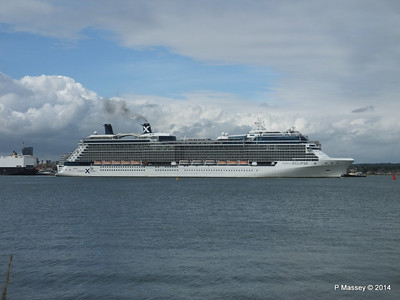 CELEBRITY ECLIPSE Departing Southampton PDM 05-07-2014 16-58-23