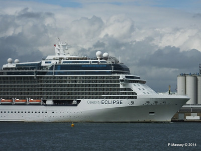 CELEBRITY ECLIPSE Departing Southampton PDM 05-07-2014 16-58-01