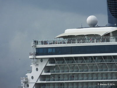 CELEBRITY ECLIPSE Departing Southampton PDM 05-07-2014 16-56-21