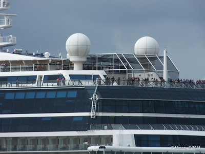 CELEBRITY ECLIPSE Departing Southampton PDM 05-07-2014 16-56-10