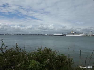 CELEBRITY ECLIPSE OCEANA GLOVIS COUNTESS ARCADIA Southampton PDM 05-07-2014 16-35-34