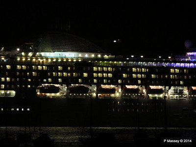 OCEANA Departing Southampton for World Cruise PDM 02-01-2014 17-40-12