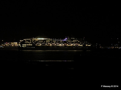 OCEANA Departing Southampton for World Cruise PDM 02-01-2014 17-38-46