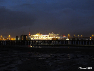 OCEANA Departing Southampton for World Cruise PDM 02-01-2014 16-59-55
