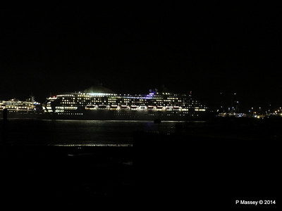 OCEANA Departing Southampton for World Cruise PDM 02-01-2014 17-39-05