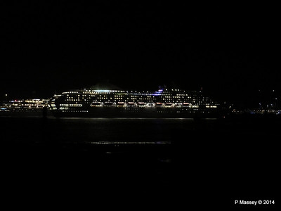 OCEANA Departing Southampton for World Cruise PDM 02-01-2014 17-38-49