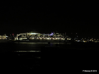OCEANA Departing Southampton for World Cruise PDM 02-01-2014 17-39-13