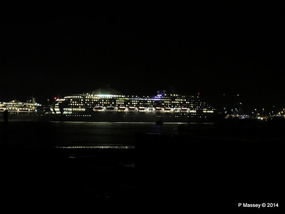 OCEANA Departing Southampton for World Cruise PDM 02-01-2014 17-39-08
