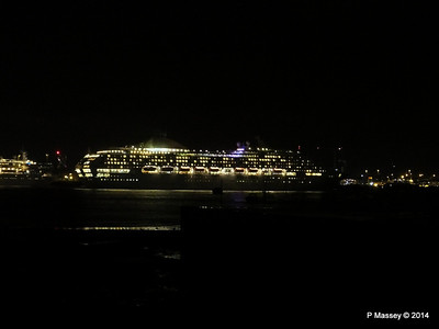 OCEANA Departing Southampton for World Cruise PDM 02-01-2014 17-39-16