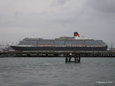 QUEEN VICTORIA Over Royal Pier Southampton PDM 09-05-2014 20-21-55