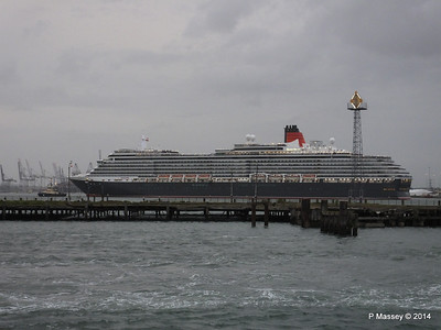 QUEEN VICTORIA Over Royal Pier Southampton PDM 09-05-2014 20-21-14