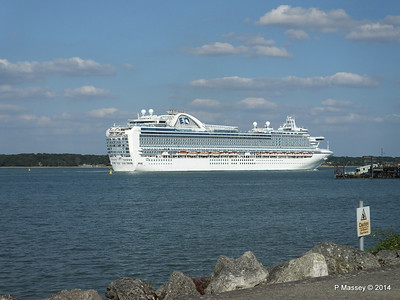 RUBY PRINCESS Departing Southampton PDM 22-07-2014 17-45-48