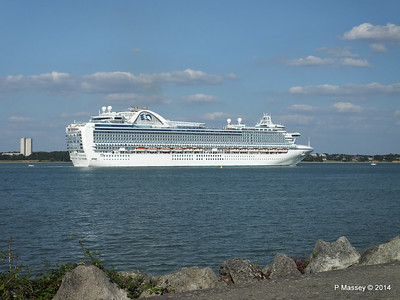 RUBY PRINCESS Departing Southampton PDM 22-07-2014 17-45-17