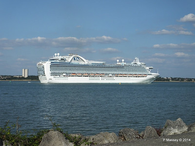 RUBY PRINCESS Departing Southampton PDM 22-07-2014 17-45-14