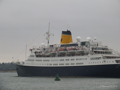 SAGA RUBY under tow Southampton PDM 08-01-2013 15-24-59