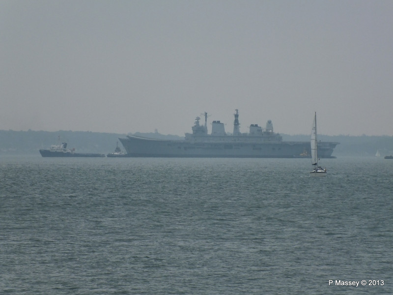 HMS ARK ROYAL CHRISTOS XXIII handing over tow PDM 20-05-2013 14-34-32