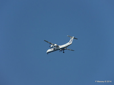 Flybe Dash 8 G0JECR Approaching SOU PDM 31-08-2014 17-27-38