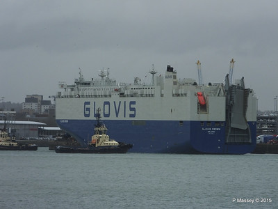 GLOVIS CROWN Outbound Southampton PDM 28-02-2015 15-10-50