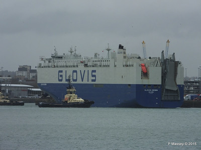 GLOVIS CROWN Outbound Southampton PDM 28-02-2015 15-10-56