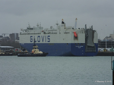 GLOVIS CROWN Outbound Southampton PDM 28-02-2015 15-09-052