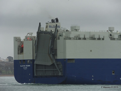 GLOVIS CROWN Outbound Southampton PDM 28-02-2015 15-28-18