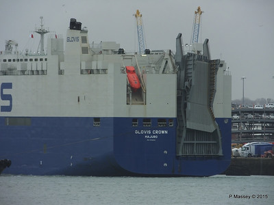 GLOVIS CROWN Outbound Southampton PDM 28-02-2015 15-11-006