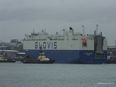 GLOVIS CROWN Outbound Southampton PDM 28-02-2015 15-10-052