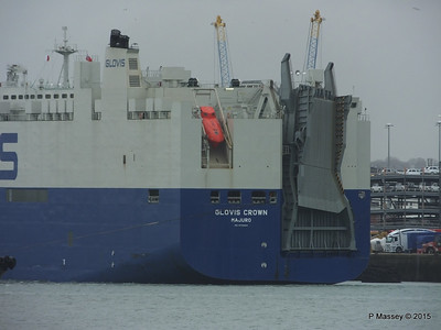 GLOVIS CROWN Outbound Southampton PDM 28-02-2015 15-11-04