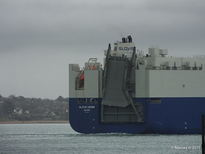 GLOVIS CROWN Outbound Southampton PDM 28-02-2015 15-28-29