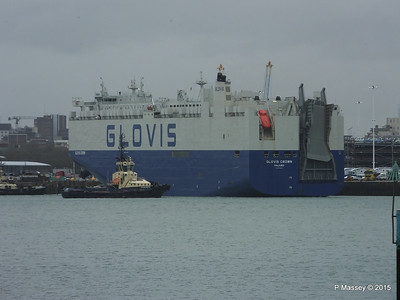 GLOVIS CROWN Outbound Southampton PDM 28-02-2015 15-09-054