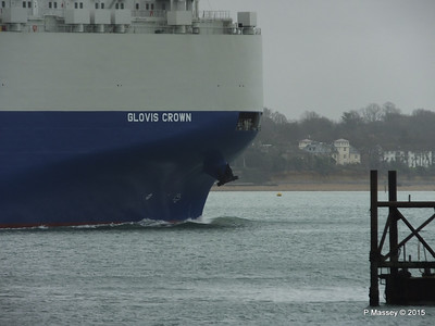 GLOVIS CROWN Outbound Southampton PDM 28-02-2015 15-27-58