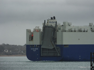 GLOVIS CROWN Outbound Southampton PDM 28-02-2015 15-28-28