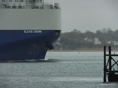 GLOVIS CROWN Outbound Southampton PDM 28-02-2015 15-27-56