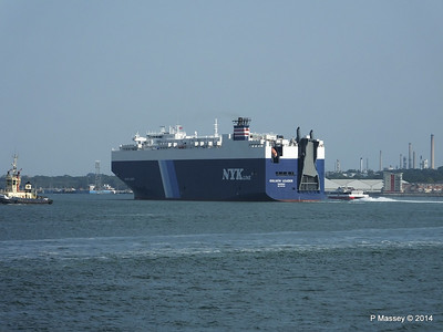 GOLIATH LEADER Departing Southampton PDM 30-07-2014 17-53-21