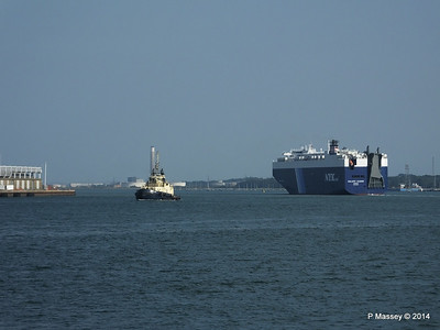 GOLIATH LEADER Departing Southampton PDM 30-07-2014 17-55-35