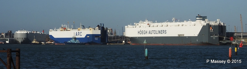 COLUMBIA HIGHWAY RESOLVE HOEGH LONDON Southampton PDM 24-01-2015 14-54-039