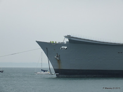 HMS ARK ROYAL tow to Aliaga PDM 20-05-2013 13-41-17