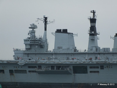 HMS ARK ROYAL tow to Aliaga PDM 20-05-2013 13-42-47