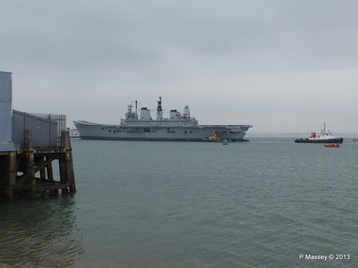 HMS ARK ROYAL tow to Aliaga PDM 20-05-2013 13-43-37