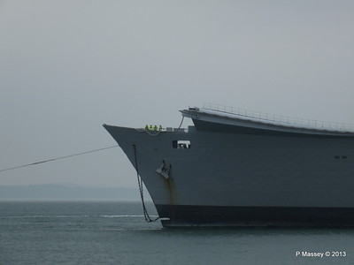 HMS ARK ROYAL tow to Aliaga PDM 20-05-2013 13-41-23